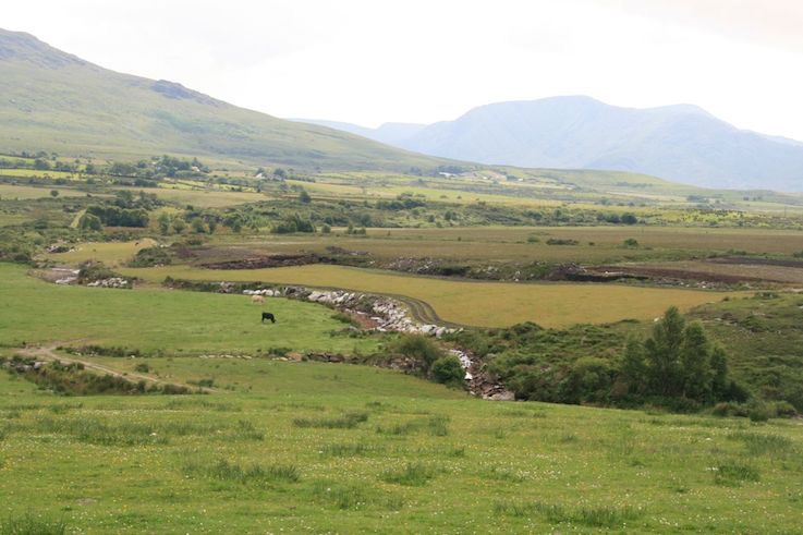 Caragh land reclamation river re contouring